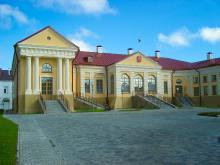 Дворец Бутримовича в Пинске сегодня