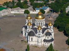 Освящение Вознесенского Кафедрального войскового собора Новочеркасска