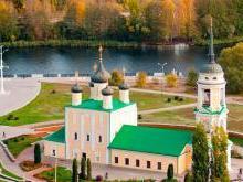 Архитектура Успенской Адмиралтейской церкви в Воронеже