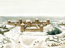 На фото Новогрудский замок реконструкция Замок в Новогрудке история создания