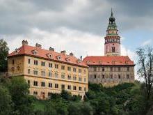 Крумлов замок Чехия