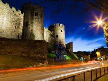 Замок Конви (Конуэй) Уэльс Англия
