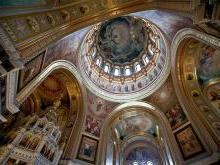 Храм Христа Спасителя внутренние отделочные работы