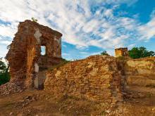 Гольшанский замок - легенда о белой пани .