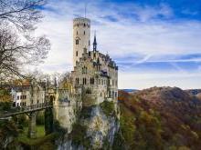 Замок Лихтенштейн Германия