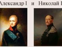 Александр I и Николай I - сравнение императоров