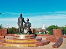 Памятник оружейникам Ижевск