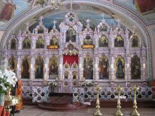 Фаянсовые иконостасы в России