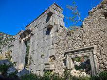 Руины города Олимпос Кемер — достопримечательность Турции