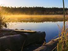 Бездонка - бездонное озеро в держинском районе беларуси