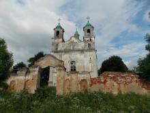 Расположение Костела Пресвятой Троицы