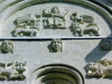 Декор храма Покрова на Нерли