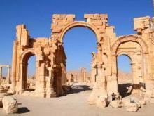 История города Пальмира в Сирии