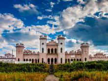 Коссовский замок история и современность дворца Пусловских