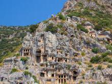 Ликийские скальные гробницы Миры