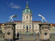 Дворец Шарлоттенбург в Берлине Германия