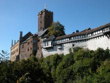 Замок Вартбург Германия фото история