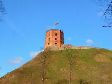 Башня Гедемина строительство и история замков на Замковой Горе в Вильнюсе Литва