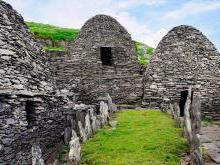 Монастырь на острове Скеллиг-Майкл